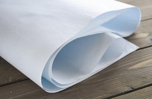 Ткань для цветоделия, светло-голубая Pastel Flowers