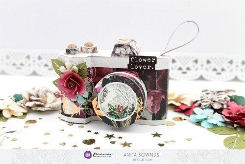 Набор карточек для журналинга, 15 штук, 4х6 дюйма, Prima Marketing Ink Midnight Garden