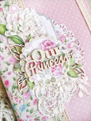 Чипборд надпись Our Princess ScrapBox