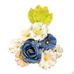 Набор цветов, 8 шт. Prima Marketing Ink из коллекции Georgia Blues