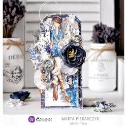 Набор цветов, 8 шт. Prima Marketing Ink Georgia Blues