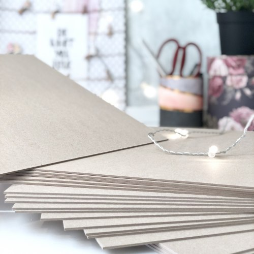 Картон переплетный 1,25 мм, 20х20 см. Eska Graphic Board