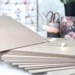 Переплетный картон 1,25 мм, 9.7х15 см. (заготовка для обложки на паспорт) Eska Graphic Board