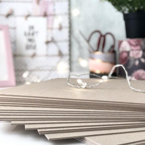 Картон переплетный 2 мм, 9.7х15 см. (заготовка для обложки на паспорт) Eska Graphic Board