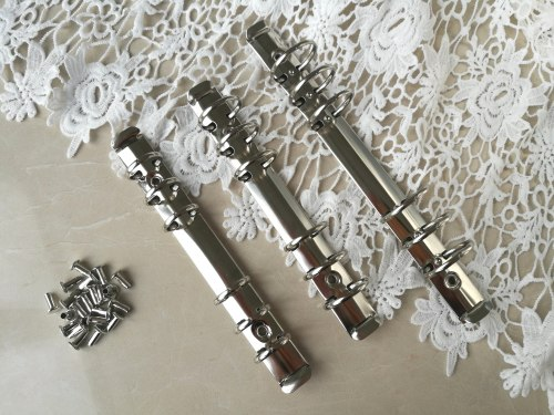 Кольцевой механизм А5 золото и серебро, 30 мм диаметр кольца