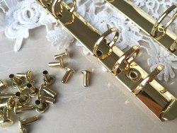 Кольцевой механизм А5 золото, 25 мм диаметр кольца
