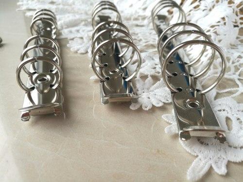 Кольцевой механизм А6 серебро, 25 мм диаметр кольца