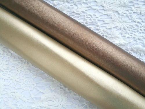 Однотонный кожзам, жемчужные цвета и металлик, цвет на выбор