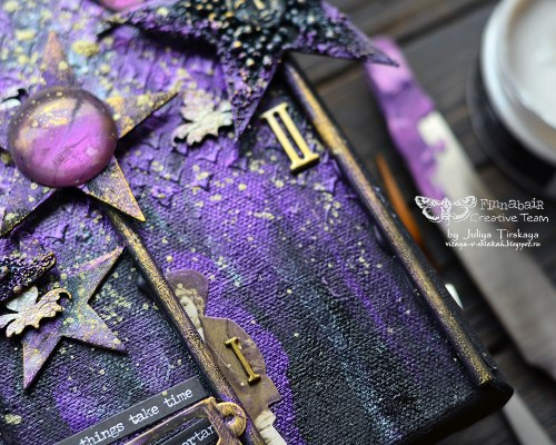 Воск Antique Brillance Wax by Finnabair, Prima Marketing Ink цвет Amethist Magic