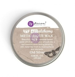Воск Metallique Wax by Finnabair Prima Marketing Ink цвет Old Silver