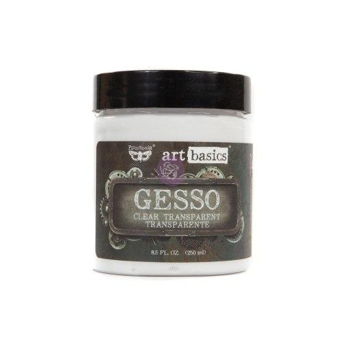 Грунт прозрачный ART BASICS GESSO CLEAR, 250МЛ, Prima Marketing Ink