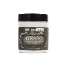 Грунт прозрачный ART BASICS GESSO CLEAR, 250МЛ, Prima Marketing Ink