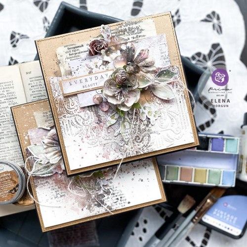 Текстурная, моделирующая паста от Finnabair Art Basics Modeling Paste, Prima Marketing Ink