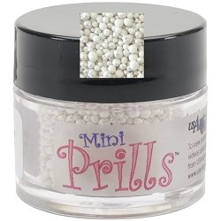 Топпинг Mini Prills, Minnie Pearls белый, US Artquest