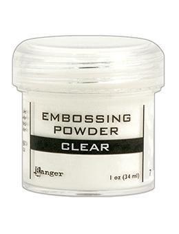 Пудра для эмбоссинга Clear прозрачная, Ranger