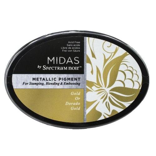 Пигментные чернила Metallic Ink Pad Gold, Spectrum Noir