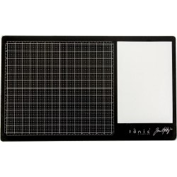 "Tim Holtz Glass Media Mat 23.75""X14.25"" дюймов Tim Holtz - Tonic Studio"