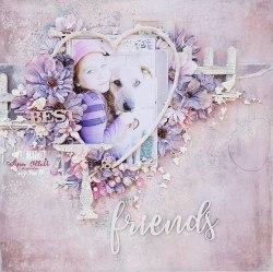 Набор цветов Enchanted Petals, цвет Twilight, 49 And Market
