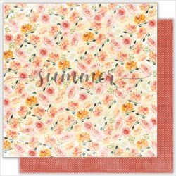 Набор двусторонней бумаги 11шт, 30,5*30,5см, 190гр. Summer Studio Warm autumn