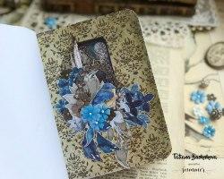 """Лист """"Blue Nature"""" 30,5*30,5СМ, коллекция """"Something blue"""" Summer Studio"""