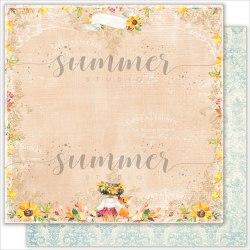 "Лист двусторонней бумаги ""This Day"" 30,5*30,5см, 190гр. Summer Studio ""Autumn stories"""