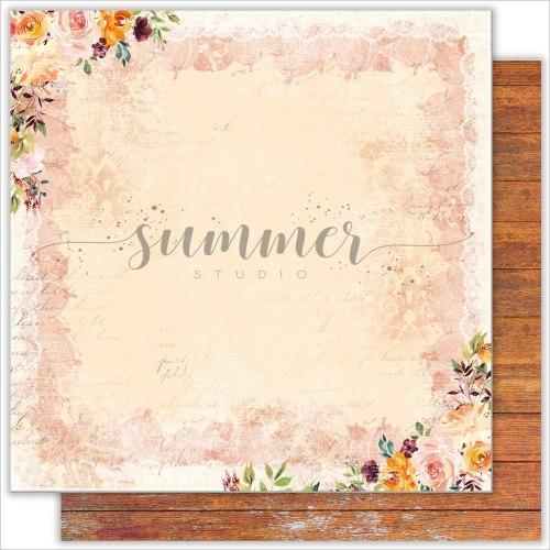Набор бумаги 30,5*30,5см. Summer Studio Warm autumn