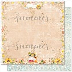 "Лист двусторонней бумаги ""This Day"" 30,5*30,5см, Summer Studio ""Autumn stories"""
