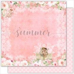 """Лист двусторонней бумаги """"Special day"""" 30,5*30,5см, 190гр. Summer Studio Vintage wedding"""