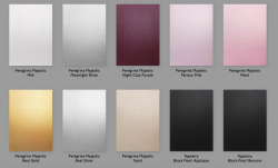 Дизайнерский картон Majestic Petal Pink, 290 г/м2.