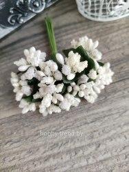 Букет тычинок, 12 шт., цвет айвори