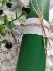 """Кожзам Vivella, цвет """"Лесная зелень"""", Италия, матовый"""