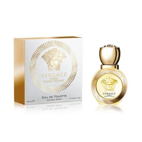 Парфюм Gianni Versace (Версаче) Eros Pour Femme Eau De Toilette edt (L)