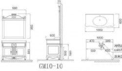 Комплект мебели Godi GM10-10 100см