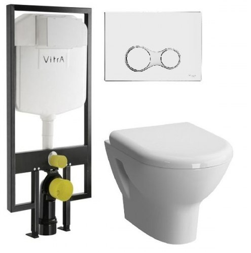 Набор Vitra Zentrum с крышкой Soft Close