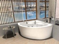 Ванна акриловая Aquatek Борей 150x150