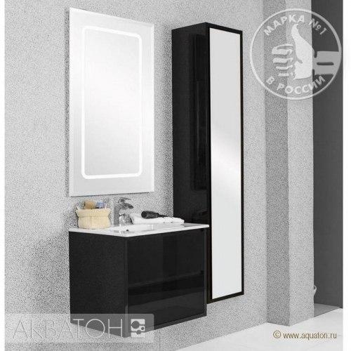 Мебель для ванной Акватон Римини 60 черная