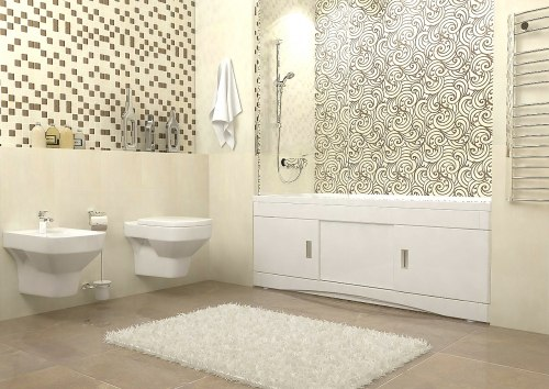 Экран для ванны раздвижной ВанЛанд Валентина 150, 160, 170, 180