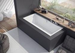 Ванна акриловая Excellent Pryzmat Slim 160x75, 170x75, 180x80