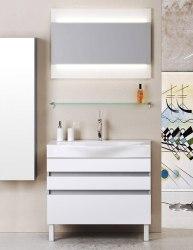Мебель для ванной Aqwella Bergamo 80, 100 напольная