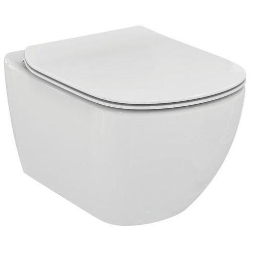 Унитаз подвесной Ideal Standard Tesi AquaBlade с крышкой Soft Close