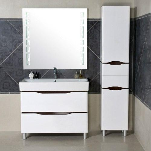 Мебель для ванной Аква Родос Венеция 60, 80,100 белый