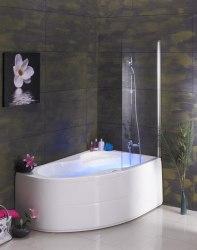 Ванна акриловая с ножками Poolspa Mistral 150x105, 170x105