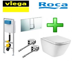 Комплект Viega+Roca 727550+Clean Rim