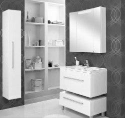 Зеркало-шкаф для ванной Акватон Мадрид 80
