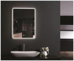 Зеркало с подсветкой Esbano ES-2073 50х70, 60х80, 80х60, 100х80, 120х70 с часами