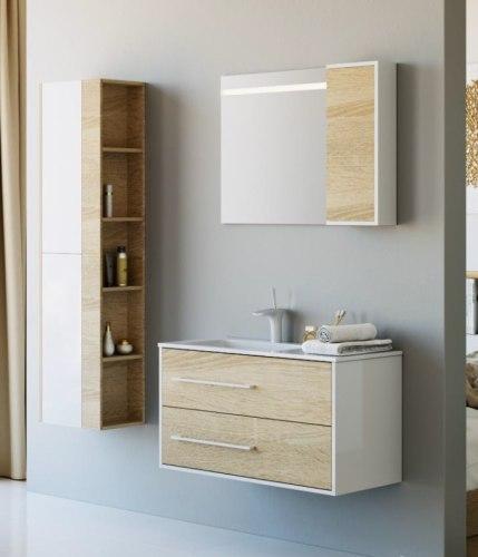 Мебель для ванной Aqwella Майами 90