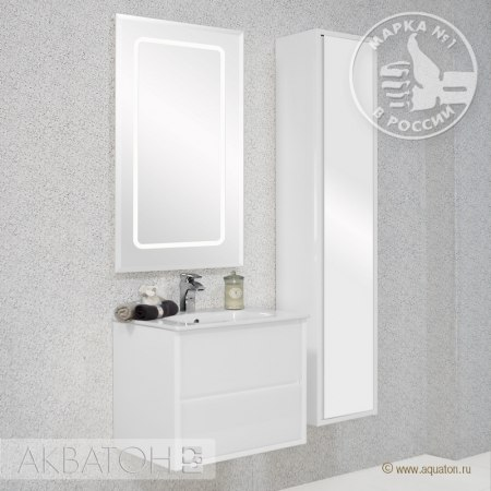 Мебель для ванной Акватон Римини 60 белая