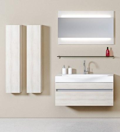 Мебель для ванной Aqwella Bergamo 80, 100