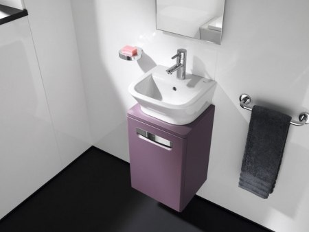 Мебель для ванной Roca The Gap 45 белый, фиолетовый