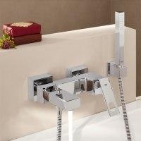 Смеситель для ванны с ручным душем Grohe Eurocube 23141000